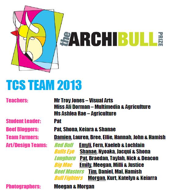 TCS Archibull Team 2013